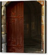 Gothic Church Door Acrylic Print
