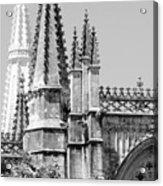 Gothic Detail  Acrylic Print