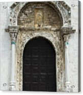 Gothic Entrance Acrylic Print