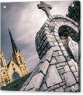 Gothic Faith Acrylic Print