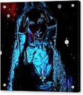 Gothic Female Model Acrylic Print