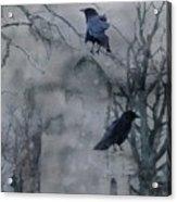 Gothic Gray Wash  Acrylic Print