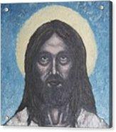 Gothic Jesus Acrylic Print