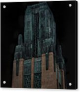Gothic Night. Architecture Of Los Angeles Acrylic Print