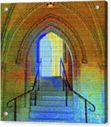 Gothic Steps Acrylic Print