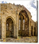 Gothic Temple Ruins - San Domingos Acrylic Print