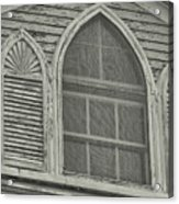 Nantucket Gothic Window  Acrylic Print