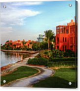 Gouna, Hurghada, Egypt  Acrylic Print