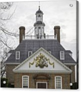 Governors Palace Back Door 01 Acrylic Print