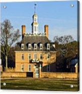 Governor's Palace Williamsburg Acrylic Print
