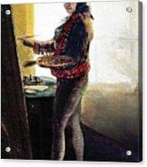 Goya: Self-portrait Acrylic Print