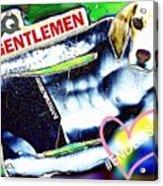 Gq Gentle Dog Acrylic Print
