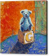 Gq Teddy Acrylic Print