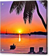 Grabbers Sun Acrylic Print