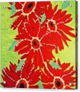 Grace Flowers Acrylic Print