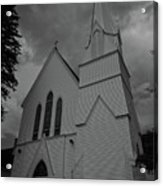 Grace In Black And White Acrylic Print