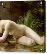 Grace In Nudity Acrylic Print