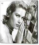 Grace Kelly, 1954 Acrylic Print by Everett