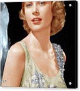 Grace Kelly, Ca. 1955 Acrylic Print by Everett