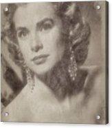 Grace Kelly, Vintage Hollywood Actress Acrylic Print