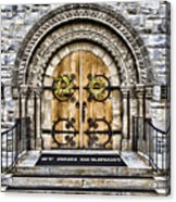 Grace - St Ann Church Acrylic Print