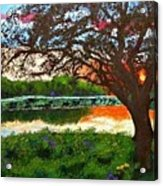 Grace Sunrise Acrylic Print