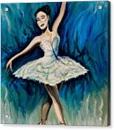 Graceful Dance Acrylic Print