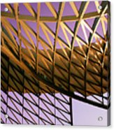 Graceful Grid Acrylic Print