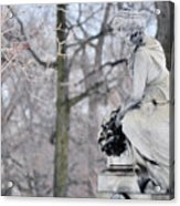 Graceland Cemetery Acrylic Print