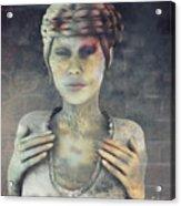 Gradual Fossilization Acrylic Print