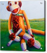 Graduate Made Of Sockies Acrylic Print
