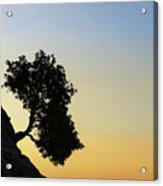 Lonely, Loutro, Chania, Crete, Greece Acrylic Print
