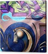 Graffiti 10 Acrylic Print