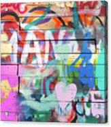 Graffiti 4 Acrylic Print
