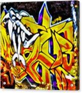 Graffiti Alley I Acrylic Print