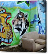 Graffiti Art Albuquerque New Mexico 7 Acrylic Print