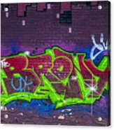 Graffiti Art Nyc 2 Acrylic Print