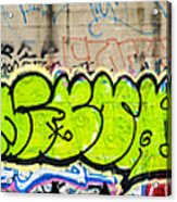 Graffiti Art Nyc 3 Acrylic Print