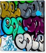 Graffiti Art Nyc 9 Acrylic Print