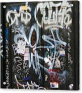 Graffiti Greenwich Village Acrylic Print
