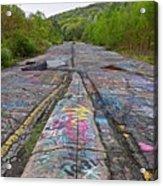 Graffiti Highway, Facing South Acrylic Print