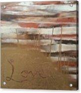 Graffiti Love Acrylic Print