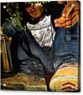 Graffiti Man Acrylic Print