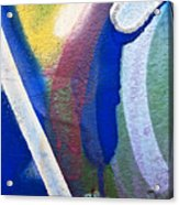 Graffiti Texture V Acrylic Print