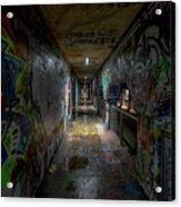 Graffiti Tunnel Acrylic Print