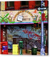 Graffiti Village Store Nyc Greenwich  Acrylic Print
