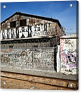Graffiti Wall Acrylic Print