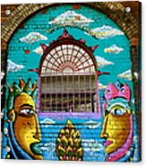 Graffiti Window Acrylic Print