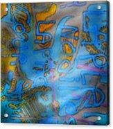 Graffitis Time Acrylic Print