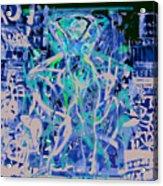 Grafiti Dance Acrylic Print